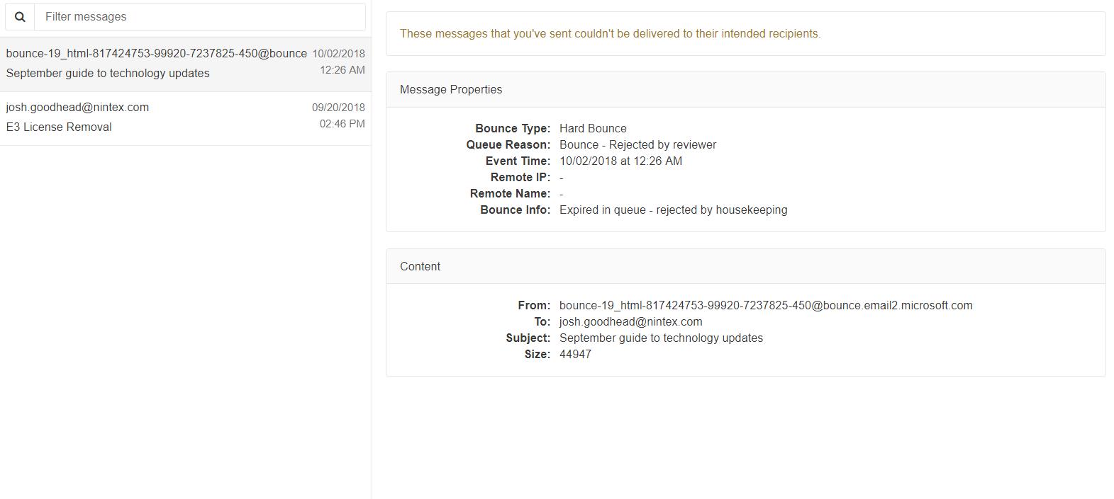 Managing Your Mimecast Self Portal – Customer Assistance